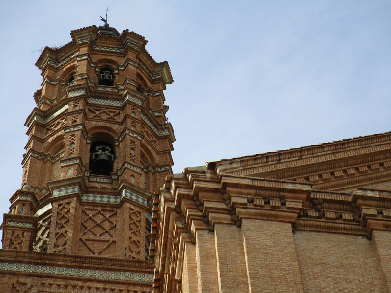 Mudéjar church tower, La Almunia