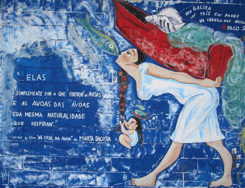 """""""Families of the Sea"""", Muxía Fish Market, Rías Altas, Galicia"""